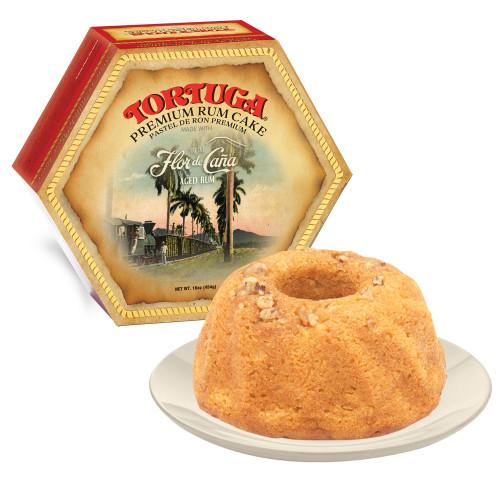 16 oz Flor De Cana Rum Cake