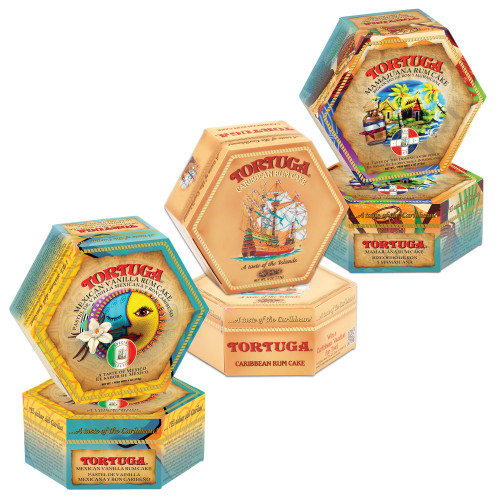 Tortuga Mexican Vanilla & MamaJuana with Golden Original Six pack