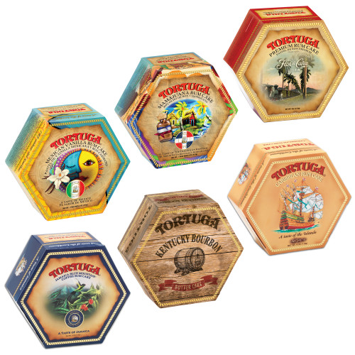 Tortuga Provenance - 4oz variety six pack (1 pack)