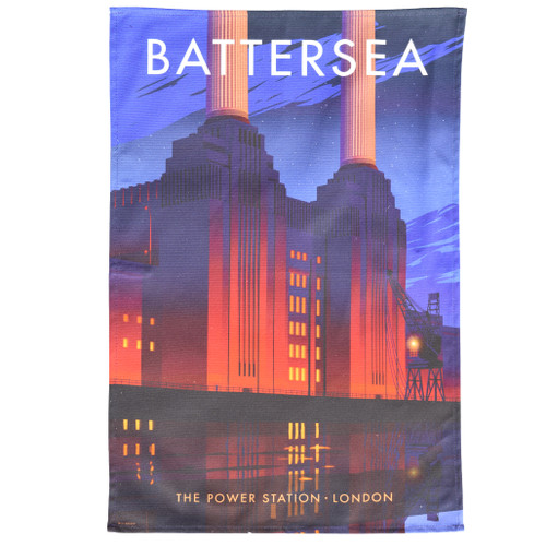 Battersea Power Station Tea Towel