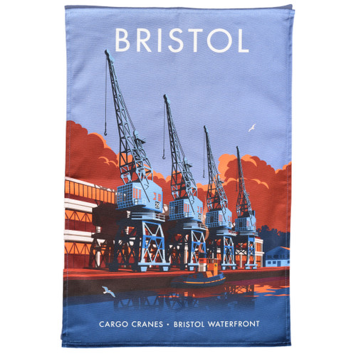 Bristol Waterfront Tea Towel