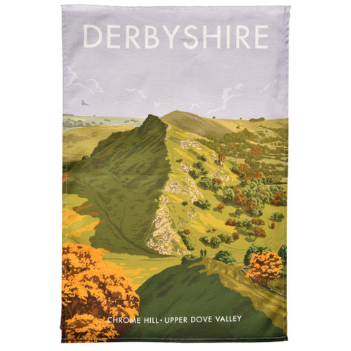 Derbyshire Chrome Hill Tea Towel