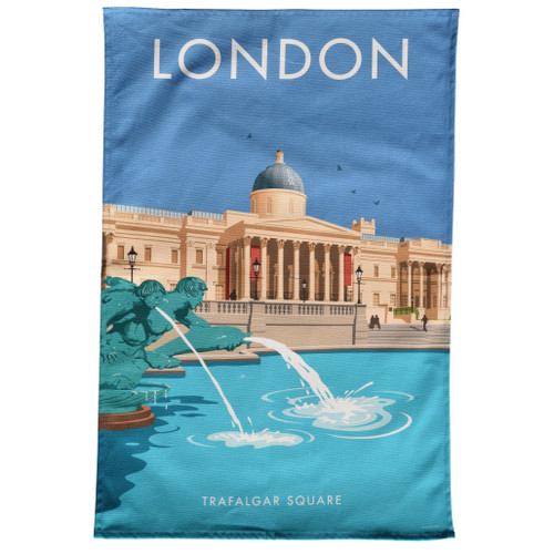 London Trafalgar Square Tea Towel