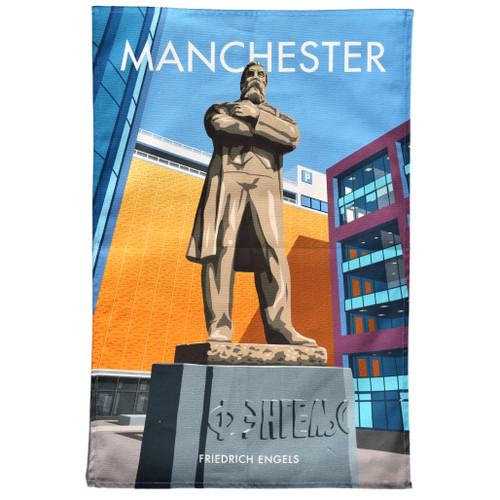 Manchester Engels Tea Towel