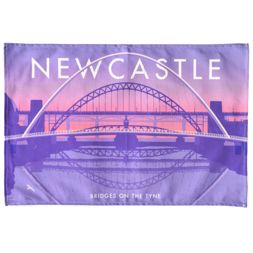 Newcastle Bridges Tea Towel