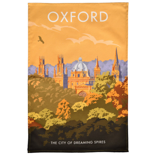Oxford Dreaming Spires Tea Towel