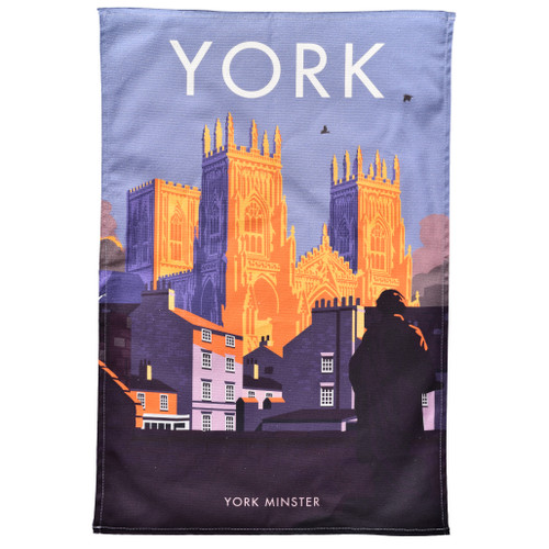 York Minster Tea Towel
