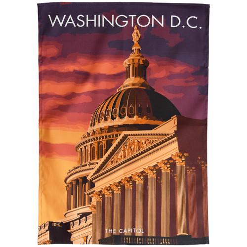 Washington DC Capitol tea towel