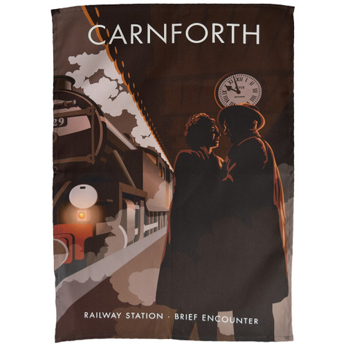 Carnforth Railway Station - Brief Encounter tea towel
