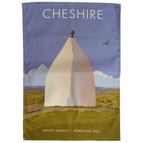 Cheshire - White Nancy, Kerridge Hill tea towel