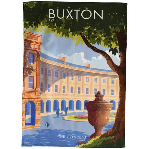 Buxton - the Crescent tea towel
