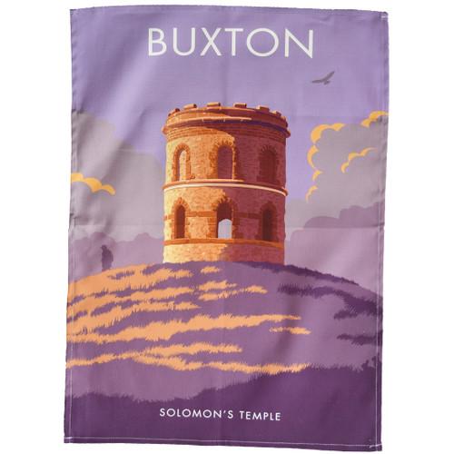 Buxton - Solomon's Temple tea towel