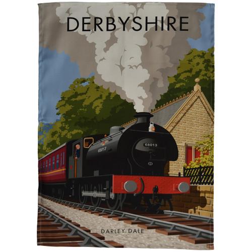 Derbyshire - Darley Dale tea towel