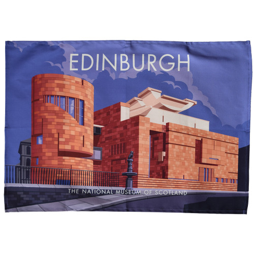 Edinburgh - National Museum of Scotland tea towel