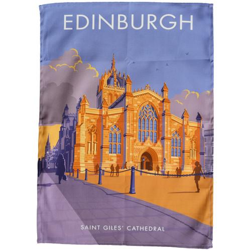 Edinburgh - St Giles' Cathedral tea towel