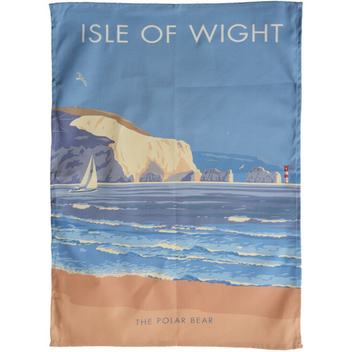 Isle of Wight - The Polar Bear tea towel