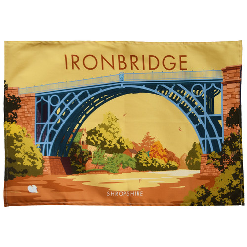 Ironbridge - Shropshire tea towel