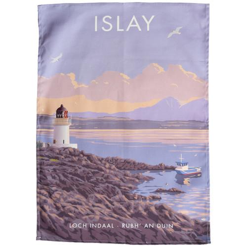 Islay - Loch Indaal tea towel