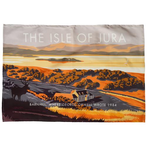 Isle of Jura - Barnhill tea towel