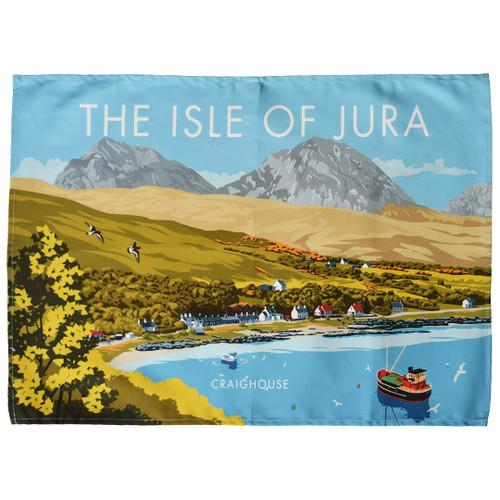 Isle of Jura - Craighouse tea towel