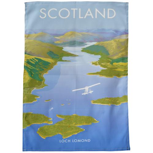 Scotland - Loch Lomond tea towel