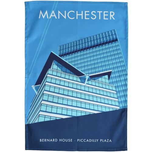 Manchester - Bernard House tea towel