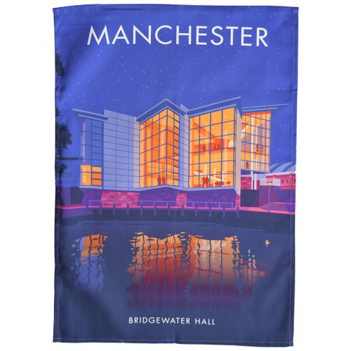 Manchester - Bridgewater Hall tea towel