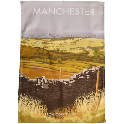Manchester - Cown Edge tea towel