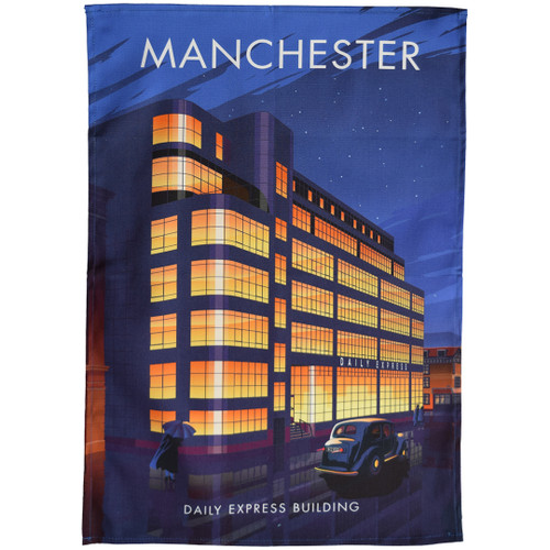 Manchester - Daily Express Building tea towel