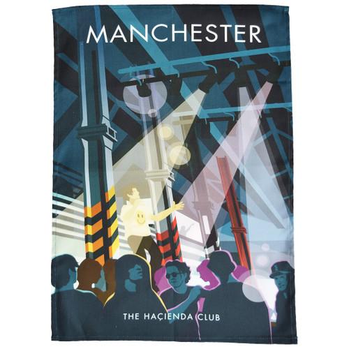 Manchester - Haçienda Club tea towel