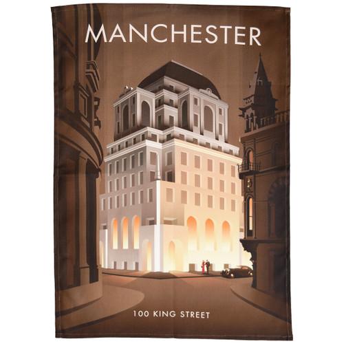 Manchester - 100 King Street tea towel