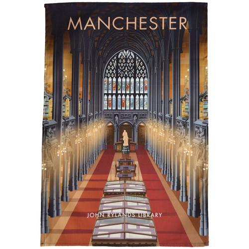 Manchester - John Rylands Library tea towel