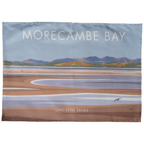 Morecambe Bay - Lancaster Sands tea towel
