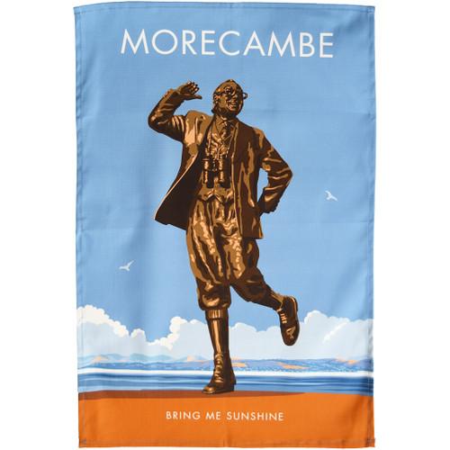 Morecambe - Bring Me Sunshine tea towel