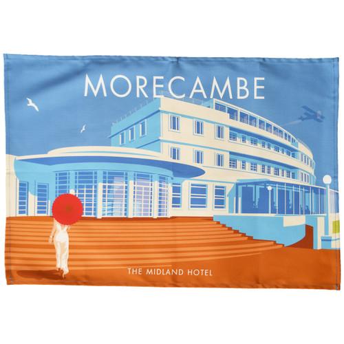 Morecambe - Midland Hotel tea towel