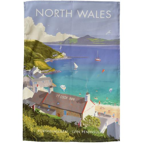 North Wales - Porthdinllaen tea towel