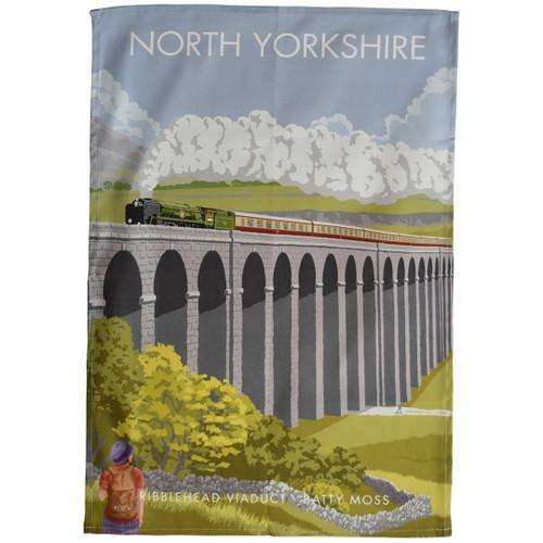 North Yorkshire - Ribblehead Viaduct tea towel