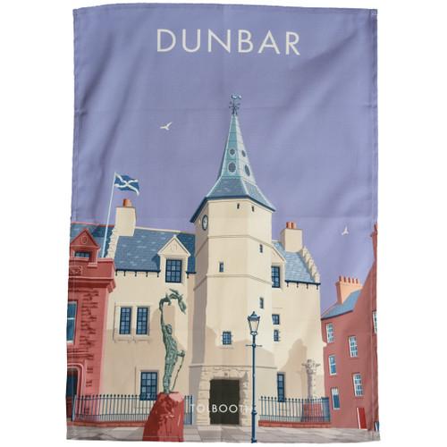 Dunbar - Tolbooth tea towel