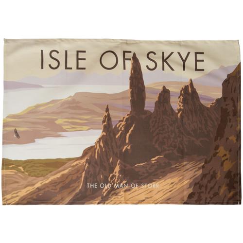 Isle of Skye - the Old Man of Storr tea towel