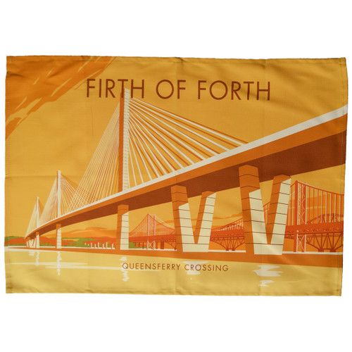 Firth of Forth Queensferry Crossing tea towel