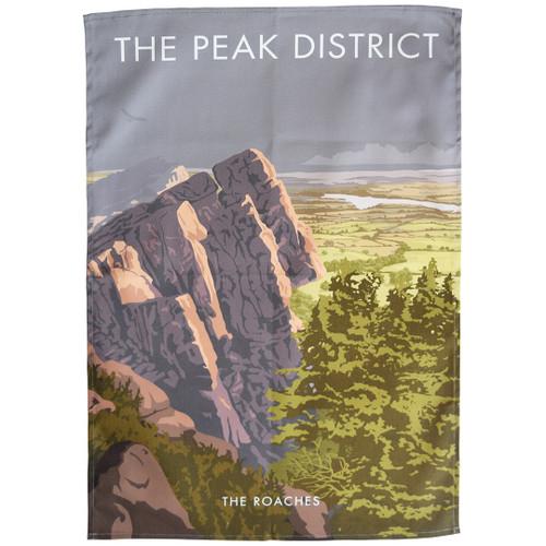 The Peak District - The Roaches tea towel