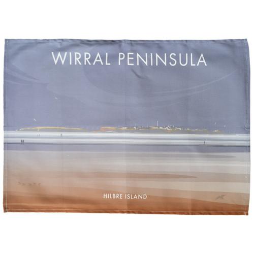 Wirral Peninsula - Hilbre Island tea towel