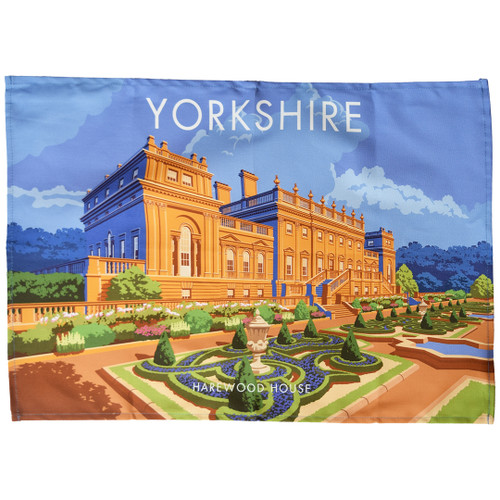Yorkshire - Harewood House tea towel