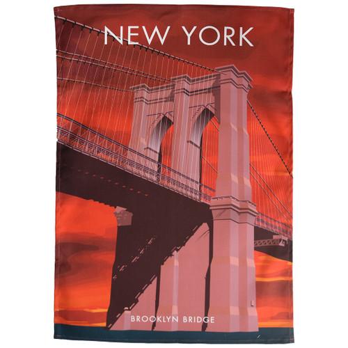 New York - Brooklyn Bridge tea towel