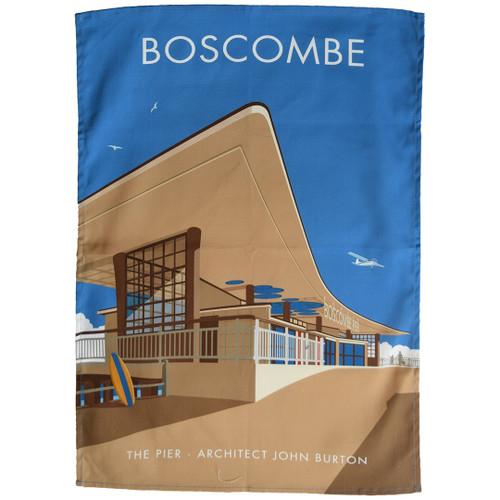 Boscombe Pier tea towel