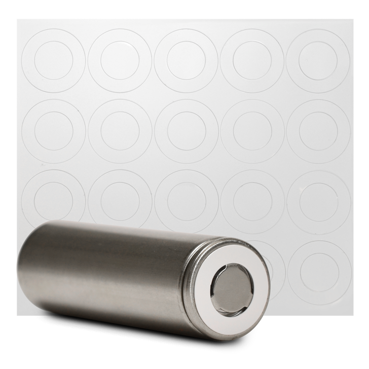 20700 Battery Terminal Insulators - 20pcs - White Plastic