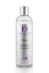 Extra Body Volumizing Conditioner for Fine to Normal Hair- DE Professional