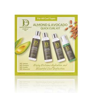 Almond & Avocado Quick Curl Kit