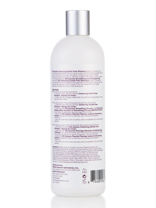 Sulfate Free Strengthening Therapy Shampoo Design Essentials