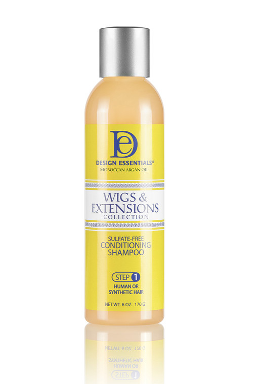 Wigs & Extensions Sulfate-Free Shampoo- Step 1 for wigs, weaves and extensions